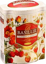 BASILUR Fruit Strawberry & Raspberry plech 100g